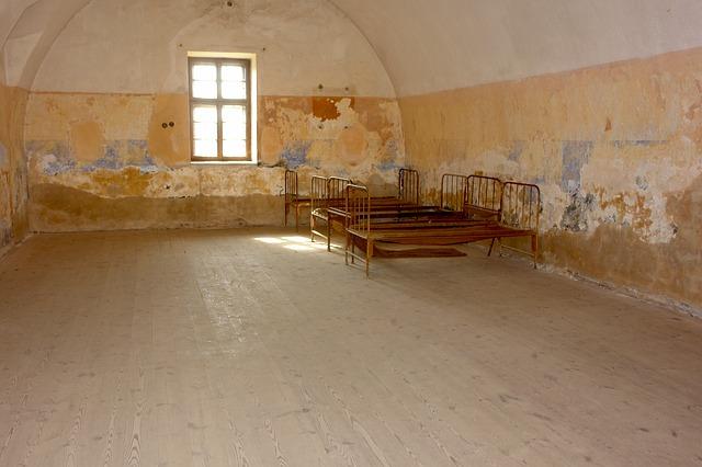 ubytovna v Terezíně