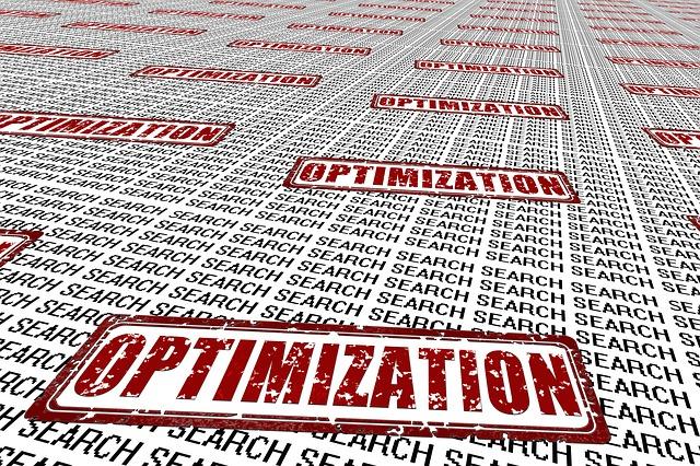 Vhodná optimalizace webu