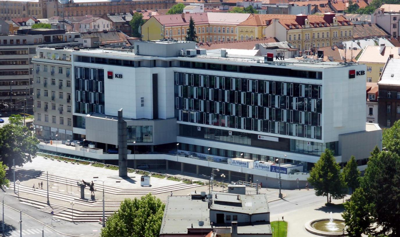 moderní Plzeň